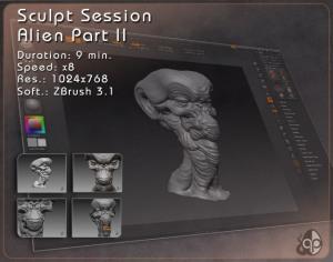 SCULPT SESSION – Alien Part II
