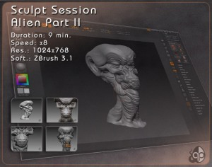SCULPT SESSION – Alien Part II