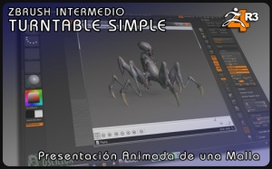 ZBRUSH Intermedio II – TURNTABLE SIMPLE